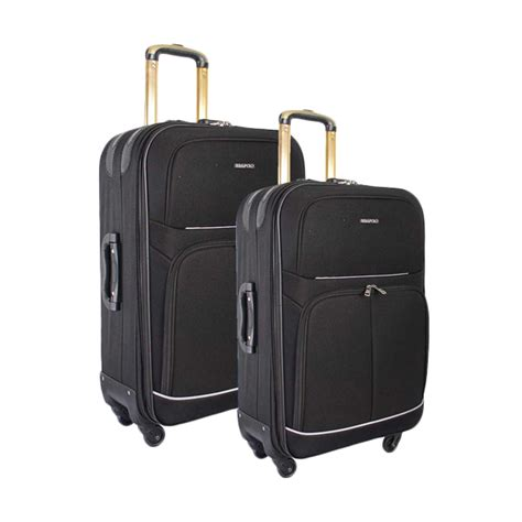 Real Polo Tas Koper Softcase Expandable 588 24 Inch 4 Roda Putar Jual Real Polo Koper Expandable 581 Trolley Bag Hitam 4