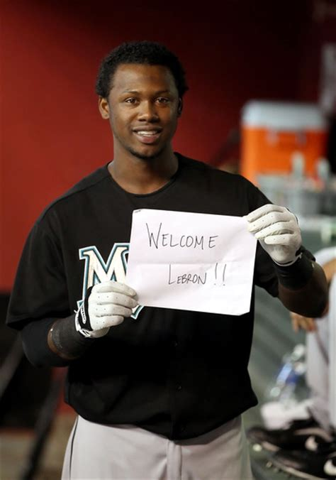 hanley ramirez in florida marlins v arizona diamondbacks