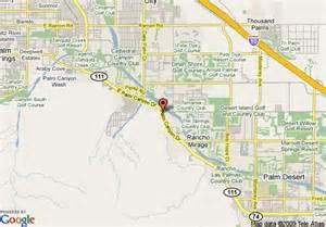 rancho mirage california map map of garden inn palm springs rancho mirage