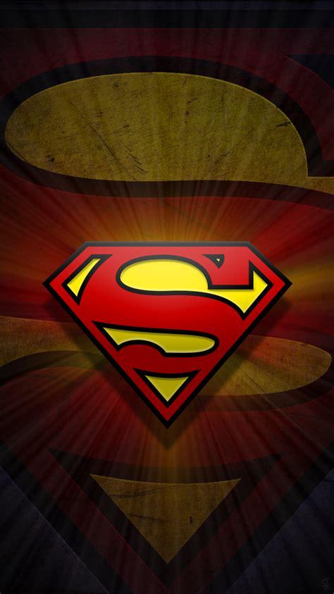 superman logo wallpaper  iphone gallery