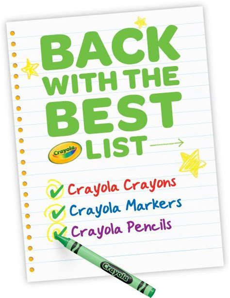 crayola coloring pages back to school 152 best images about back to school with crayola on