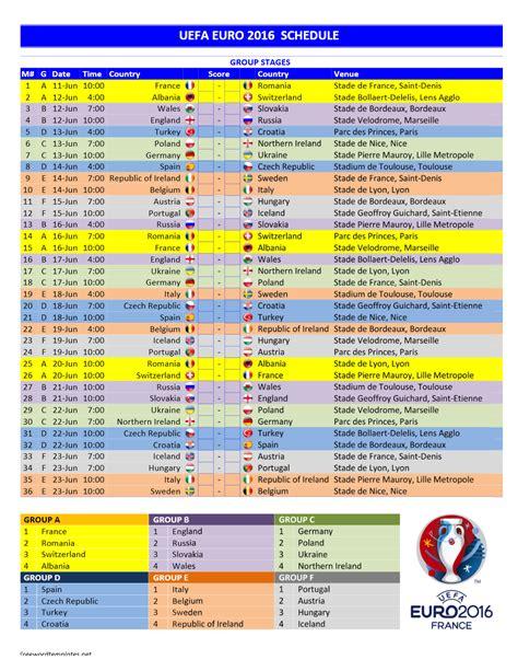 printable tv schedule uk euro 2016 schedule printable fli