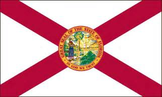 florida state colors florida state flag coloring pages usa for