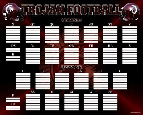 10 Football Depth Chart Template Excel Exceltemplates Exceltemplates Football Depth Chart Template Excel Format