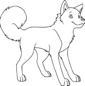coloriage husky dessin 224 imprimer sur coloriages