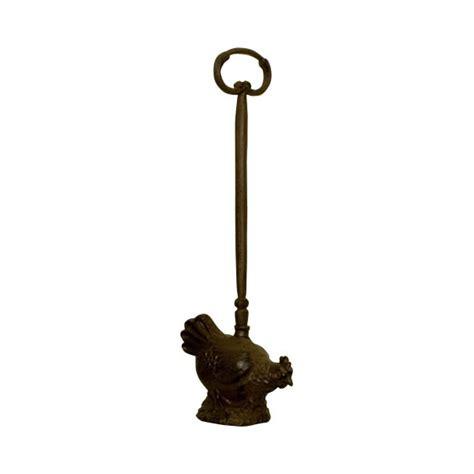 cast iron hen door stop from lilyben uk
