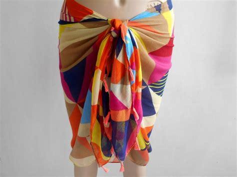 caribbean wraps international wedding sarongs cover ups rainbow sarong bikini skirt swimsuit coverup beach