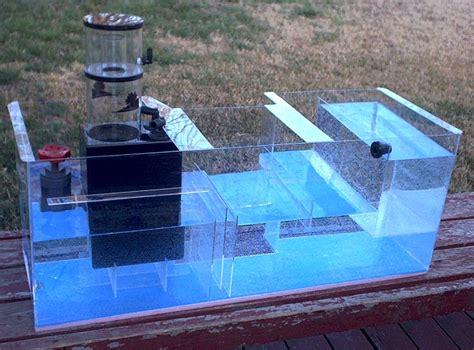 aquarium return design model quot b quot sump melev s reef inc
