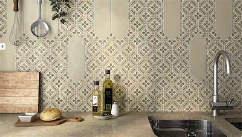 carreaux adh駸ifs cuisine carrelage motif carreau de ciment hexagonal large b26