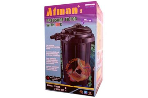 Dijamin Atman Ef 3000u Pressure Filter With Uvc bo loc co den uv atman ef 6000uv pressure pond filter carong1068