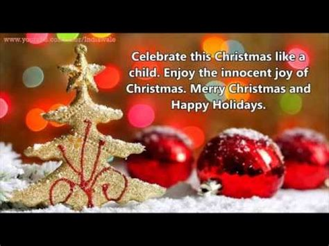 unique merry christmas wishes beautiful whatsapp video  year  youtube