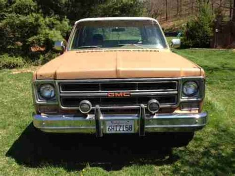 1976 gmc jimmy for sale find used 1976 gmc jimmy high sport utility 2 door