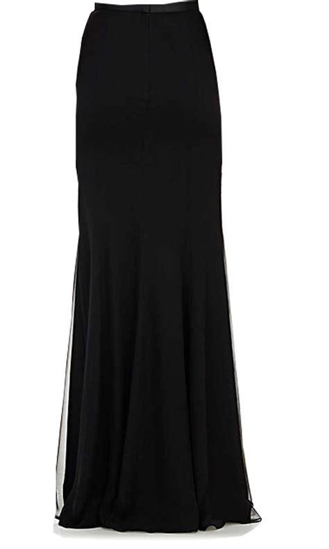 black chiffon maxi skirt 100 images guess by