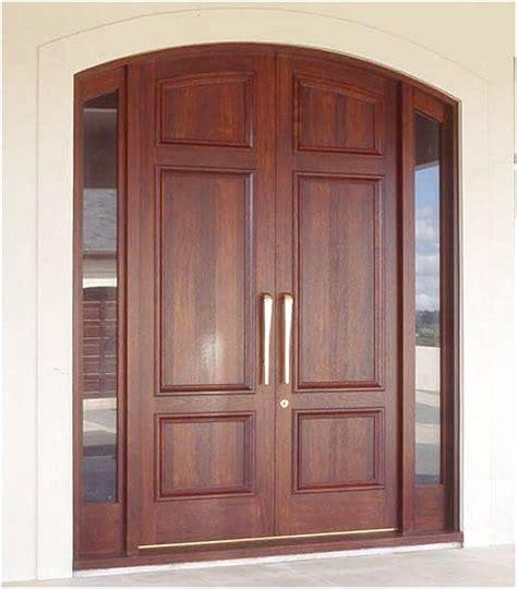 desain depan rumah pintu dua desain pintu rumah 2 pintu kayu modern terbaru pintu