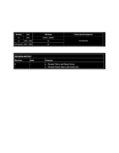 audi service bulletins audi workshop manuals gt a4 quattro wagon l4 2 0l turbo