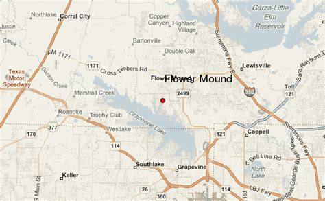 where is flower mound texas on the map flower mound location guide