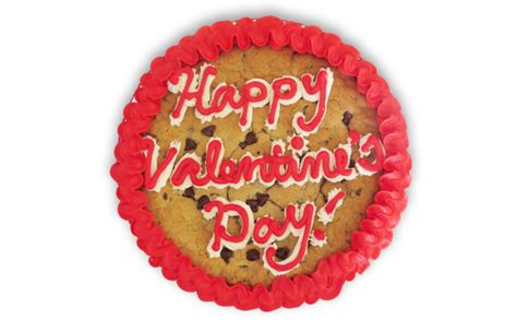 valentines cookie cakes 9 quot s day cookie cake fate cakes