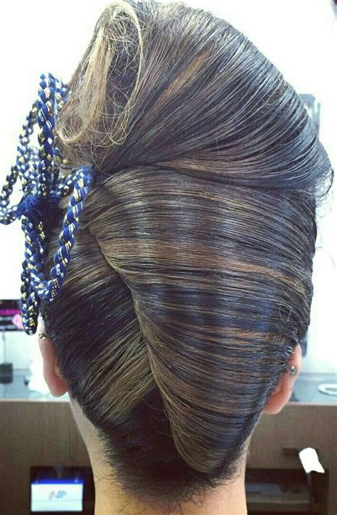 large hair pleats 98 best french twist images on pinterest hair dos