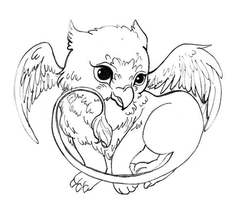 mythical creatures coloring pages patterns pinterest pin by tsui s c on outline 輪廓圖 pinterest dragons