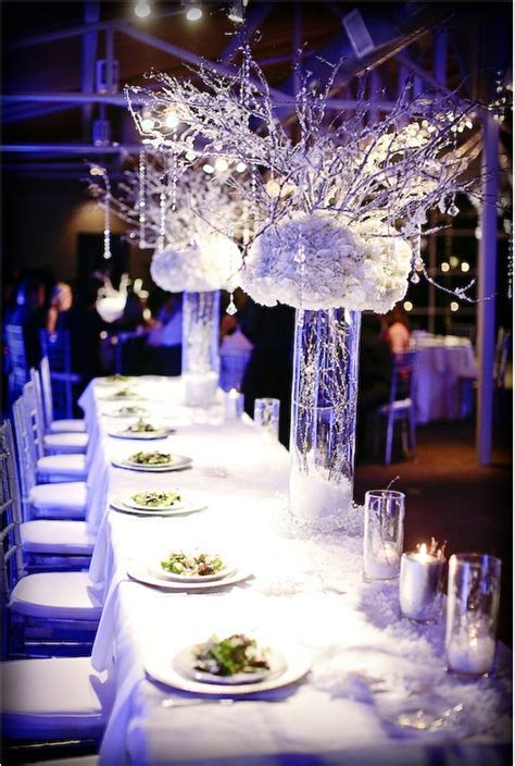 table centerpieces ideas for wedding reception gorgeous winter decorations ideas hypnoz glam