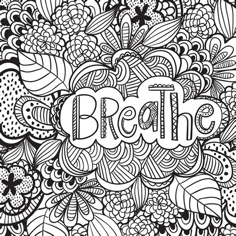 stress relief coloring pages easy joyful inspiration adult coloring book 31 stress