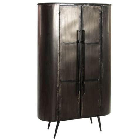 armadi ferro cool armadio metallo nero invecchiato industrial with