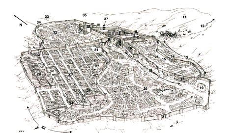 city jerusalem map city of jerusalem