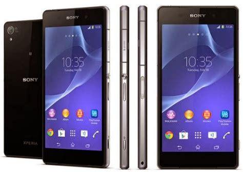 Hp Sony Xperia Z Saat Ini harga sony xperia z2 dengan spesifikasi lengkap terbaru