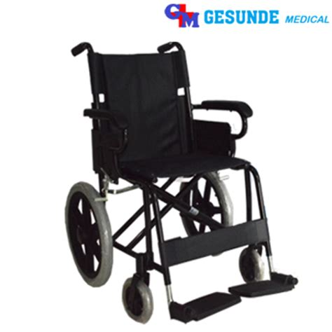 Kursi Roda Gesunde kursi roda fs871lb m alumunium wheelchair toko medis jual alat kesehatan