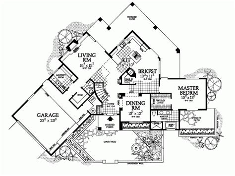 mission house plans eplans mission house plan lavish living 2285 square