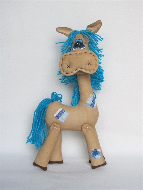 Handcrafted Toys - handsome handmade horses handmade toys