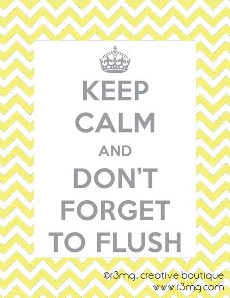 Dont Forget The Detox by R3mg Printables Keep Calm And Don T Forget To Flush