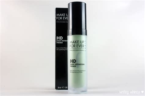 Makeup Forever Hd Primer make up for hd microperfecting primer in 1 green writing whimsy