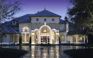 Luxury Home Designs - showcase beautiful french country chateau luxury house plans