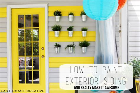 how to paint siding on house how to paint exterior wood siding buffet take a bite tutorial how to paint your