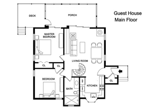 guest house floor plans 500 sq ft detached guest house floor plans guest house floor plan