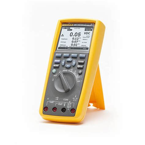 Multimeter Fluke 287 fluke 287 true rms industrial logging digital multimeter with trendcapture at the test