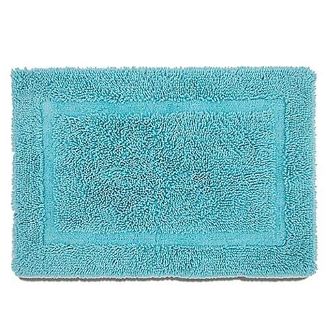 buy bath rugs buy martex ringspun bath rug in blue from bed bath beyond