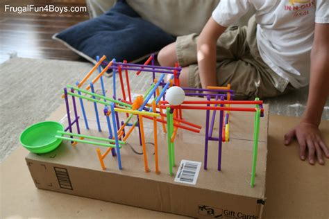 how to build a boat middle school project engineering project for kids build a straw roller coaster