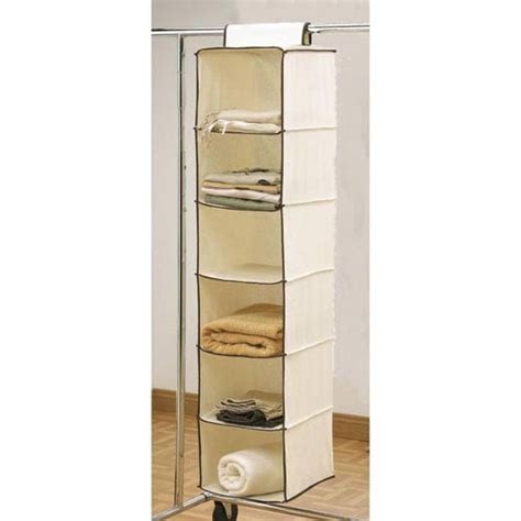 Wardrobe Hanging Storage by Deluxe Hanging Wardrobe Organizer Sturdy Enough To