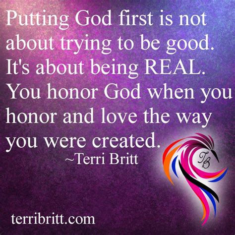 putting god first place in your life a mistake you don t what does put god first really mean terri britt