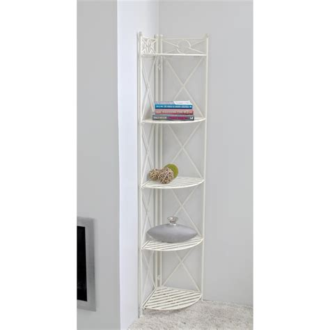 Folding Bakers Rack by 5 Tier Folding Bakers Rack In White 3533
