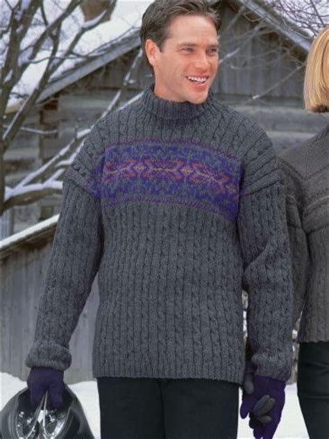 snowflake pattern sweater knit men s cable snowflake free pattern 4000 free patterns