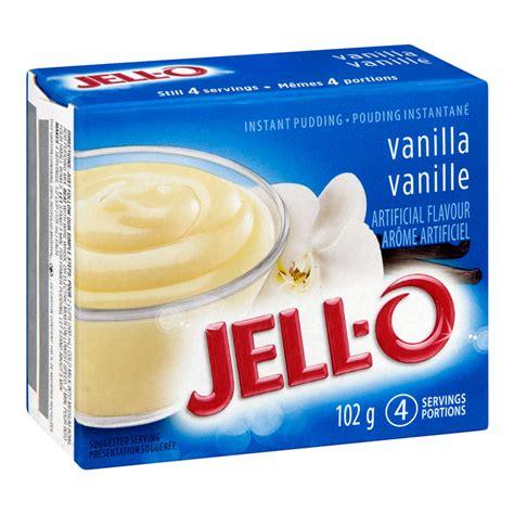 Instan By Vanilla jello vanilla pudding ingredients