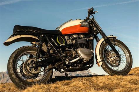 Triumph Motorrad Im Film by Triumph Scrambler Von Brad Pitt Wird Versteigert News