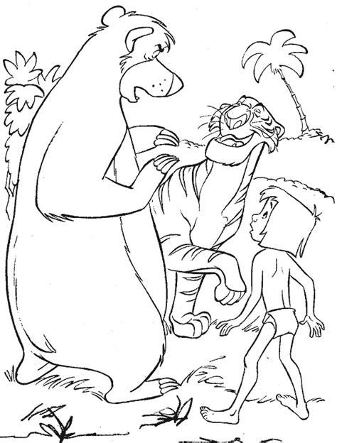 libro coloring book miro colouring imagen zone gt dibujos para colorear gt disney libro de la selva 26