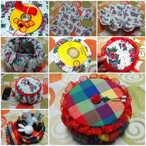 Handmade Cd - creative ideas to get best out of waste materials rank nepal