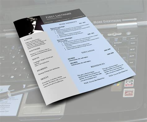 cv resume word templates 968 to 971 free cv template