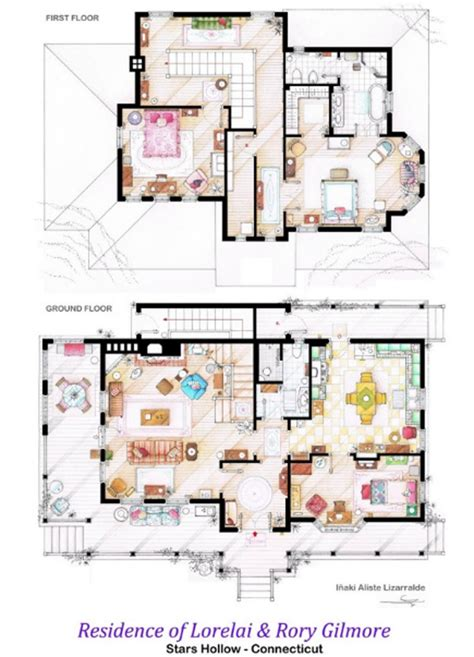 home design television shows 12 floor plans of apartment from famous tv shows home