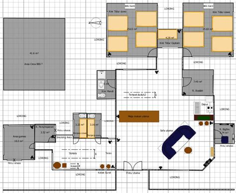 big brother house plans big brother 1 indonesia